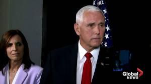 Pence defends Trump's call for Ukraine, China to probe Biden