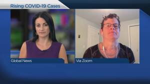 COVID-19 case numbers on the rise (04:02)