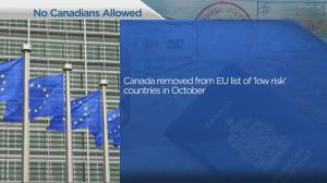 Canada's November 2020 status for European travel (04:24)