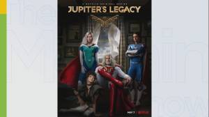 Jupiter's Legacy stars on filming in Canada (04:26)