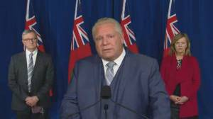 Coronavirus: Ford says COVID-19 deaths weigh on him (01:28)