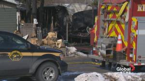Young girl dead after central Alberta fire