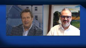 Author Michael Contento chats with Global News Morning (07:39)