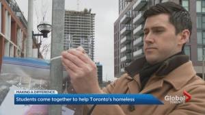 Ryerson student creates initiative to bring a little warmth to Toronto's homeless