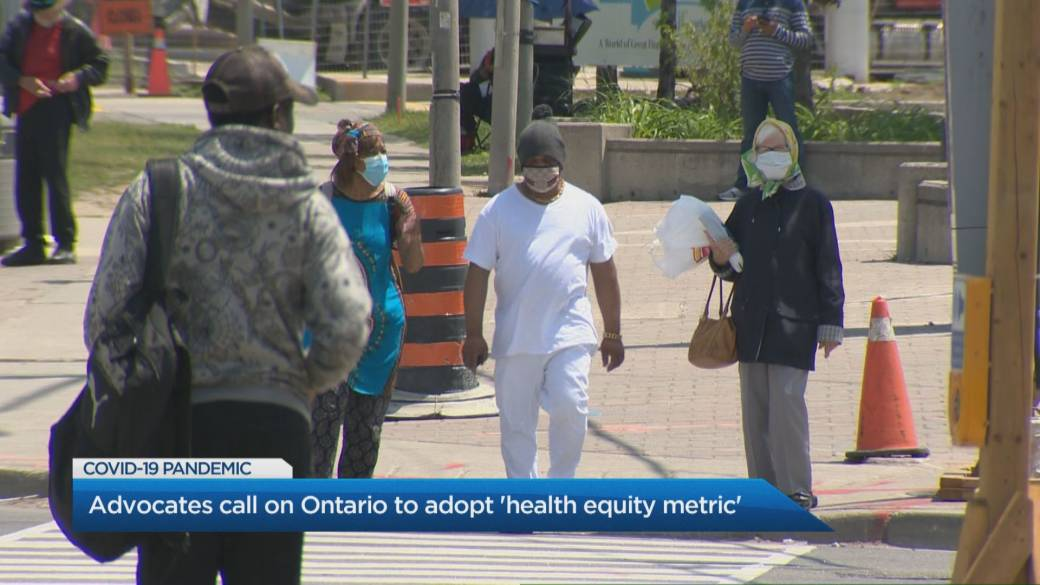 Click to play video 'Does Ontario need a 'Health Equity Metric' during the COVID-19 pandemic?'