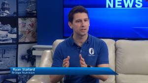 Bridge Nutrition Services' Ryan Stallard visits Global News Morning