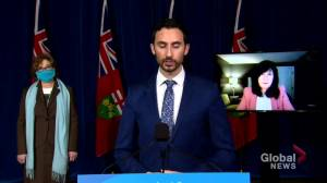 Ontario to provide $85.5 million for 'Learning Recovery and Renewal Plan for Students' (01:17)