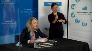 Coronavirus: Montreal reveals details of first mass vaccine rollout for those aged 85+ (01:13)