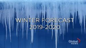 2019-20 winter forecast for Canada
