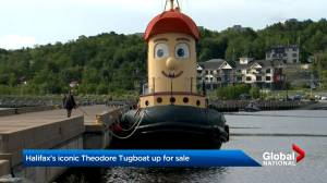 Halifax's iconic Theodore Tugboat up for sale (02:34)