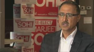 Amarjeet Sohi says Trudeau video, images in racist makeup 'disheartening, disappointing'