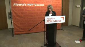 Notley wants election commissioner Lorne Gibson to speak
