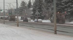What's part of Edmonton's new snow-clearing policy?