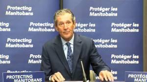 Manitoba Premier discusses grant program intended to reach vaccine hesitant (01:43)