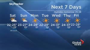 B.C. evening weather forecast: Friday September 4