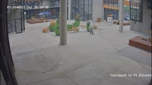 Video of alleged suspect in Kelowna double shooting (00:28)