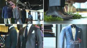 Toronto custom clothier recognized in ROM exhibit for donating facemasks (02:31)