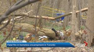 Investigation continues for fatal Toronto homeless encampment fire