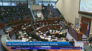 Toronto City Hall to debate province's transit offer