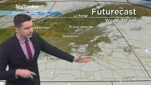 Snow tapering off: April 13 Saskatchewan weather outlook (02:32)