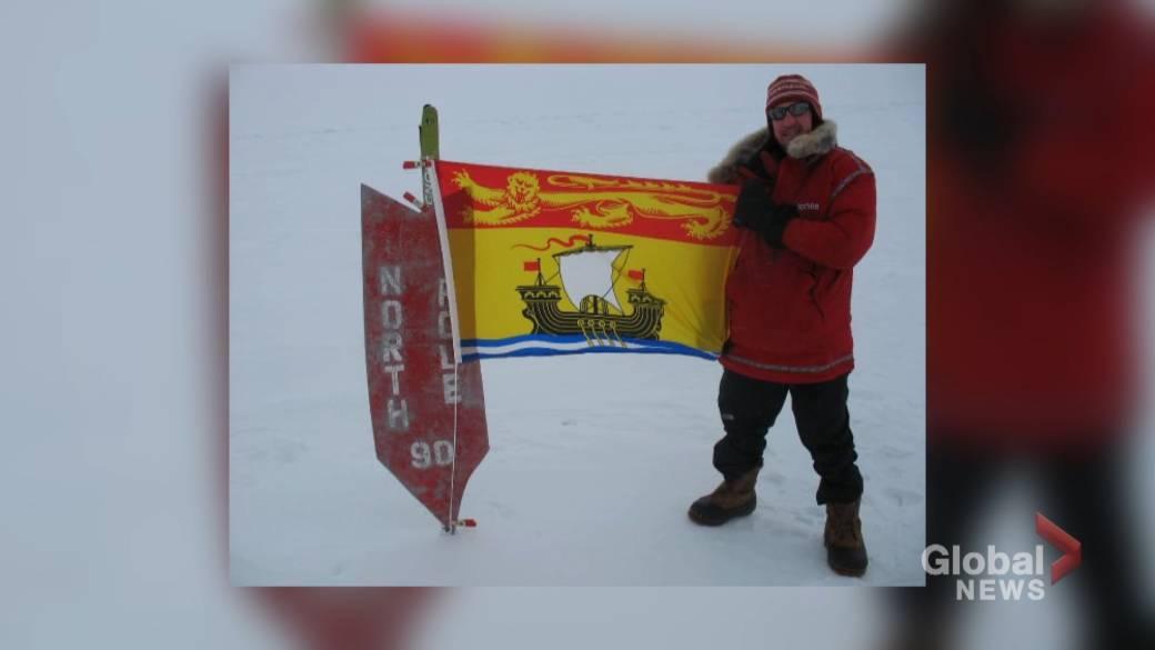Fredericton man reaches South Pole on Antarctic trek to raise mental health awareness
