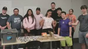 Calgary teen robotics team prepares for international competition