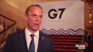 G7 meeting a 'good opportunity' to engage with India: U.K.'s Raab (01:37)