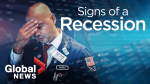 Warning signs of a recession