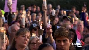 Hundreds attend vigil for Hamilton teen