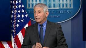 No reason to be anxious if you've taken the Johnson & Johnson vaccine, Fauci says (01:16)