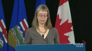 Deena Hinshaw explains Alberta's desk spacing, masking in the classroom rules