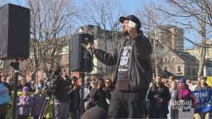 Demonstration held in Halifax in solidarity with Wet'suwet'en