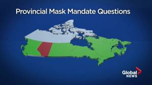 Jason Kenney says mandatory mask would trigger backlash and lower usage (02:03)