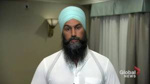 Jagmeet Singh delivers emotional reaction to Trudeau brownface photo
