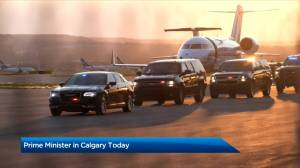 Prime Minister Justin Trudeau to meet with premier Kenney, mayor Nenshi in Calgary (01:25)