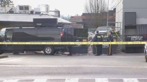 Man in grave condition after shooting in Langley mall parking lot