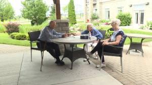 Seniors at a Kingston retirement residence share their pandemic experiences (02:15)