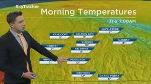 Kelowna Weather Forecast: September 9