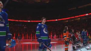 B.C. premier talks to NHL commissioner about Vancouver being 'hockey hub'