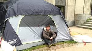 Some homeless people feel unsafe at Halifax shelters (01:51)
