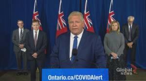 Coronavirus: Ontario tightens public health measures, targets hot spots in Toronto, Peel Region and Ottawa (02:39)