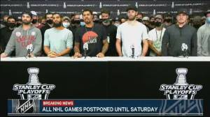 Jacob Blake protests: NHL, NBA move to postpone games following shooting (02:25)