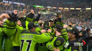 Long layoff uncharted territory for the Saskatchewan Rush (01:58)