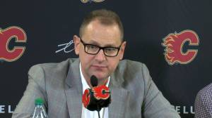 Calgary Flames' TJ Brodie update: GM Brad Treliving speaks