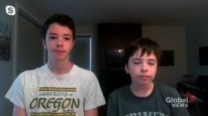 Saskatoon brothers raise money towards COVID-19 research