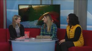 Kelsey and Olita Elia's tips for winter camping