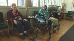 Seniors served eviction notices given less than a month to leave