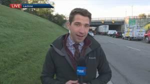 Bad roads upset residents