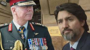 Trudeau grilled about knowledge of allegations against Gen. Vance (02:11)