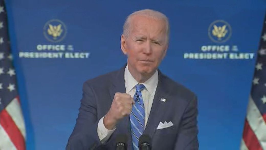 Click to play video 'Coronavirus: Biden calls for unity as U.S. works to recover from COVID-19 pandemic'